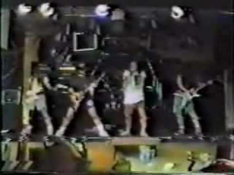 Pantera 1989 Practice with Kerry King