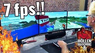 MEGA-EXPLOSION in Minecraft zwingt die Höllenmaschine 8 in die Knie!! | #Gaming-PC
