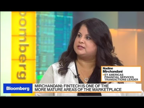 Nadine Mirchandani on Bloomberg TV: 2018 financial services M&A ...
