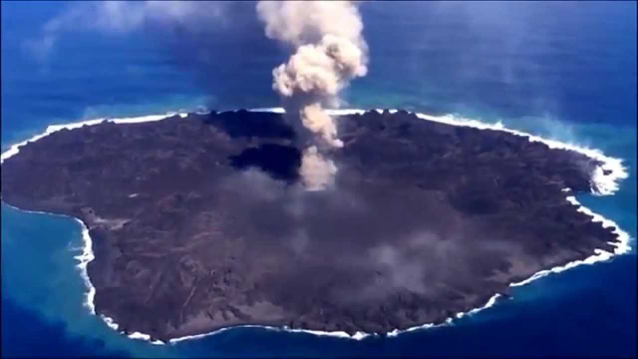 Volcanic Island: Massive Eruptions in Japan - YouTube