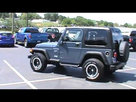 FOR SALE 2002 JEEP WRANGLER SPORT HARD TOP STK# P6837 www.lcford.com