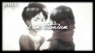 AMV Attack On Titan - Titanium (David Guetta ft. Sia)