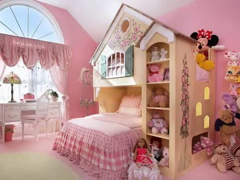 Attirant Teenage Girls Room Decorating Ideas With Beautiful Wall Painting And Accent
