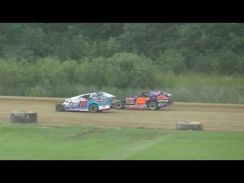 @RushSportMods Heat 3 from Expo Speedway at The Trumbull County Fair