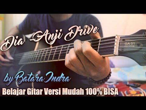 Tutorial Gitar Dia Anji Lirik Kunci Gitar Genjrengan Versi Mudah