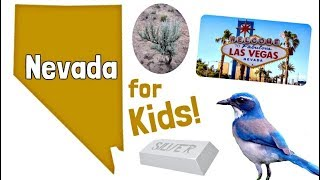 Nevada for Kids | US States Learning Video