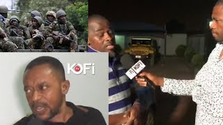 LIVE FROM REV OWUSU BEMPA'S HOUSE :HEAVY MILITARY PRESENCE AFTER ATTACK #KOFITV