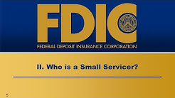 Mortgage Servicer Rules-Small Servicer: Who is a Small Servicer?