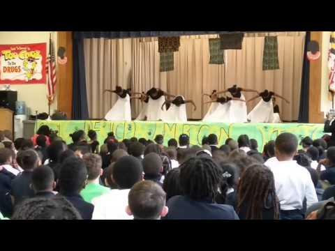 Mattaponi elementary school's black history month program(1)
