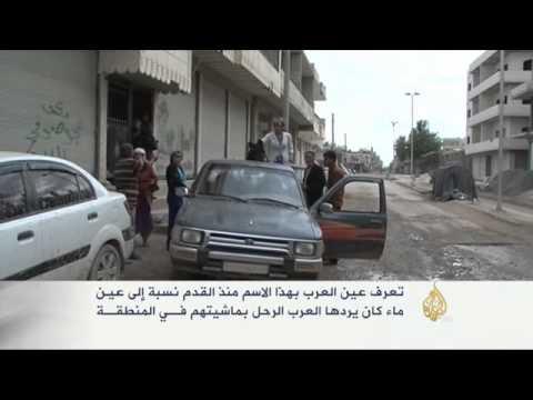 تطورات الثورة السورية والقتال في مدينة عين العرب
