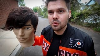 Mens Disconnected Front Haircut tutorial inspired by Tom Delonge of Blink 182 | MATT BECK VLOG 42