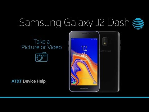Take a Picture or Video on your Samsung Galaxy J2 Dash | AT&T Wireless