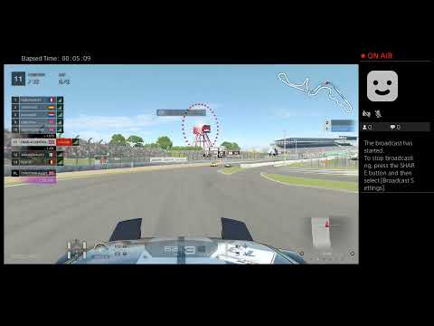 RACE-4-CONTROL's Live PS4 Broadcast