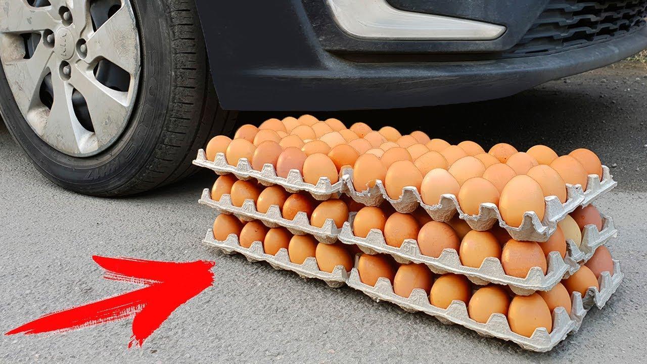 experiment-car-vs-100-eggs