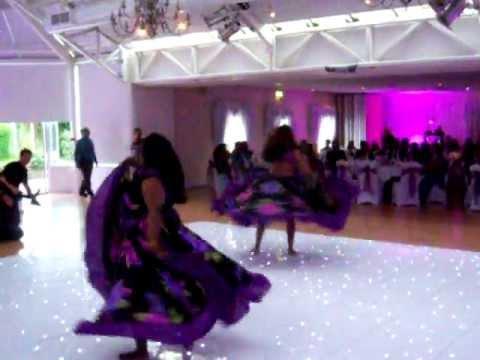 Cascade Sega Dancers performing at Wedding in Harlow