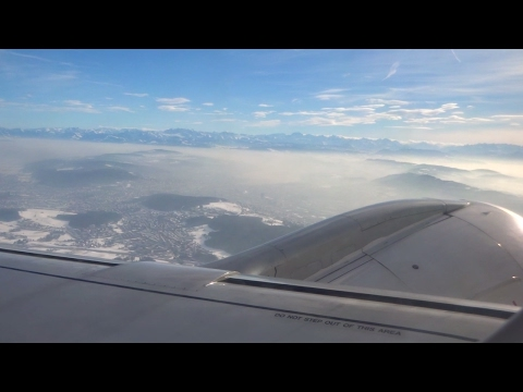 Helvetic ERJ-190 - Sunny Zurich Takeoff with Several Private Jet Sightings (Dassault, Piaggio)