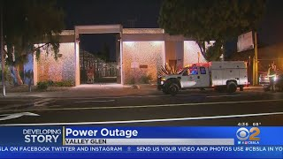 Transformer Explosion In Valley Glen Knocks Out Power To Thousands