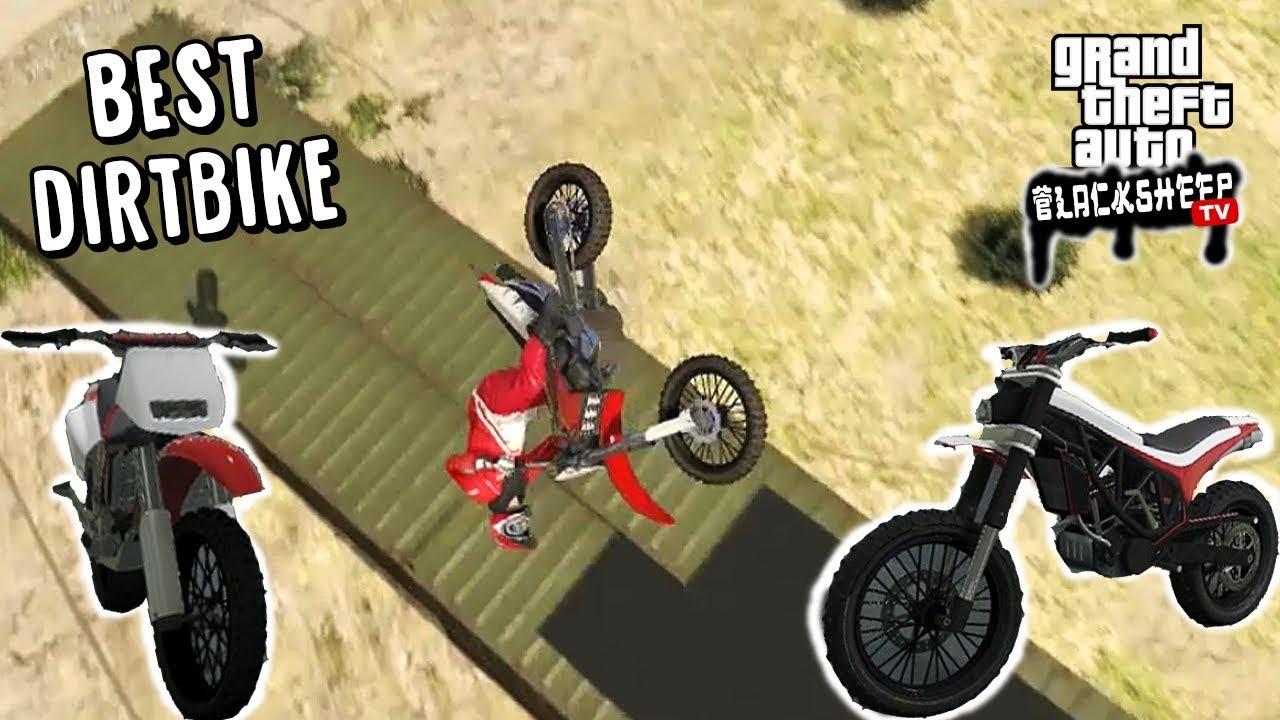 What Is The Best Dirt Bike In Gta Online Sanchez Vs Manchez