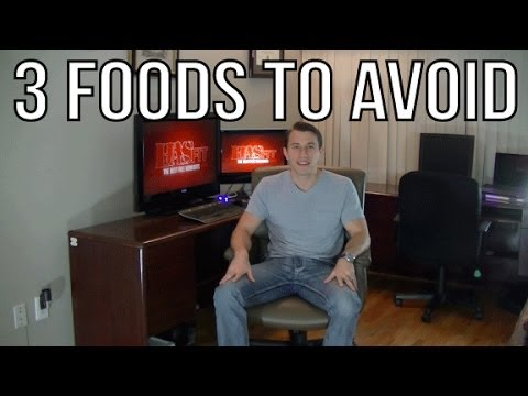 3 Foods to Avoid (if you want to be lean and healthy) - Coach Kozak VLog - Most Unhealthy Foods