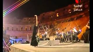 Flamenco in El Djem (قصر الجمّ)