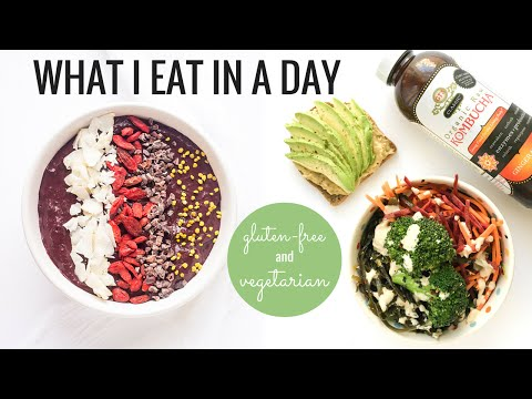 1. WHAT I EAT IN A DAY | Gluten-Free & Vegetarian