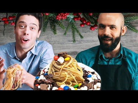 Download Youtube: We Try Buddy The Elf's Breakfast Pasta ft. Binging With Babish