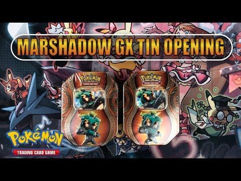 2x Marshadow GX Tin-Box OPENING!! Gewinnspielauflösung & Neues Gewinnspiel!!! [Deutsch/German]