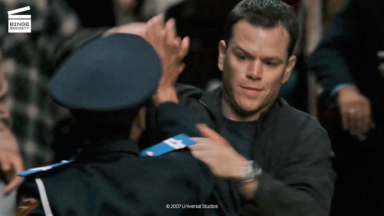 Download The Bourne Ultimatum: Moto race HD CLIP