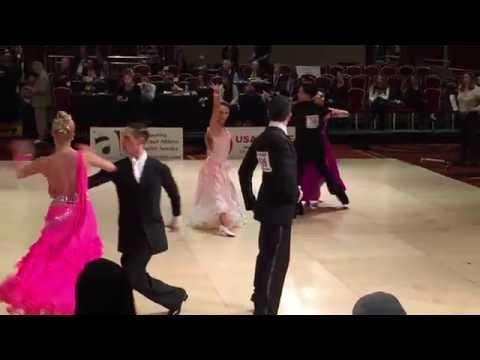 Nationals 2015 - Champ Smooth Tango - Paul Freitas & Kelly Glasheen - USADance