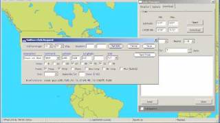 Using a Iridium satellite phone to fetch GRIB weather files