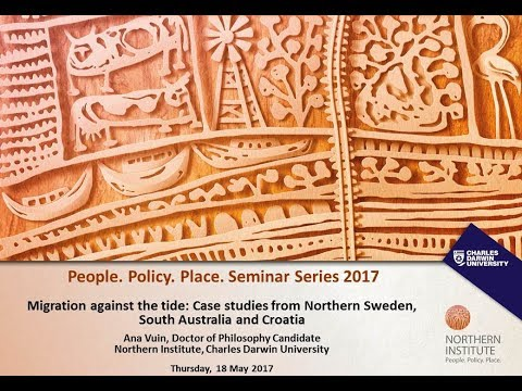 Migration against the tide: Case studies from Northern Sweden, South Australia and Croatia