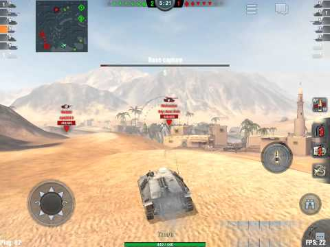 World Of Tanks Blitz- Hetzer Gameplay