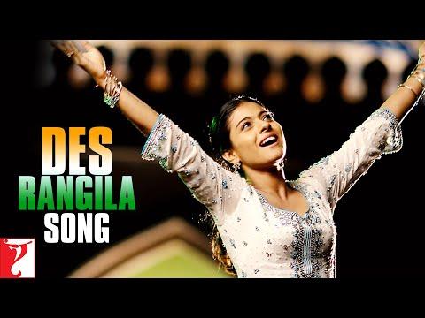 Des Rangila Song  Fanaa  Aamir Khan  Kajol