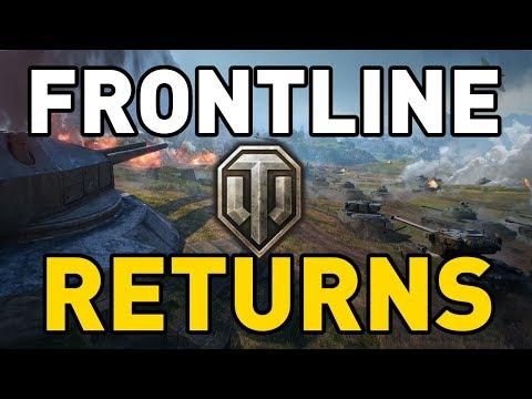 Frontline Returns to World of Tanks!