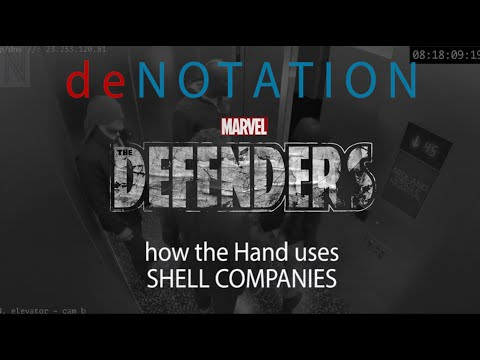 What is a Shell Company? - The Defenders - How The HAND uses SHELL COMPANIES - deNotation S1E1