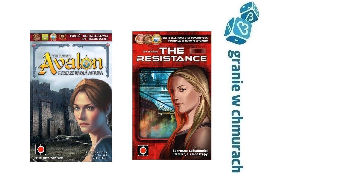 Avalon vs The Resistance + Wrogie Zamiary i Tajne Cele – recenzja