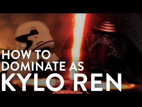 ◀HOW TO DOMINATE AS KYLO REN - Star Wars: Battlefront 2 (Hero Guide)