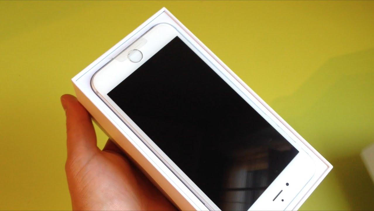 iPhone 6 Plus 64gb White Unboxing – Unlocked iPhone 6 Plus