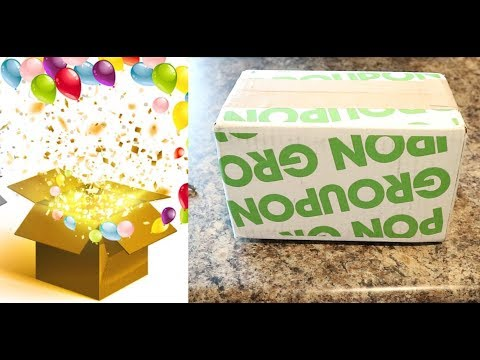 Groupon $40 Electronics Mystery Box // What's in the Box?