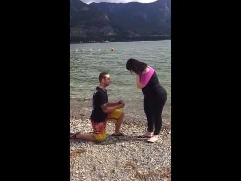 Rosie O'Donnell's wedding proposal
