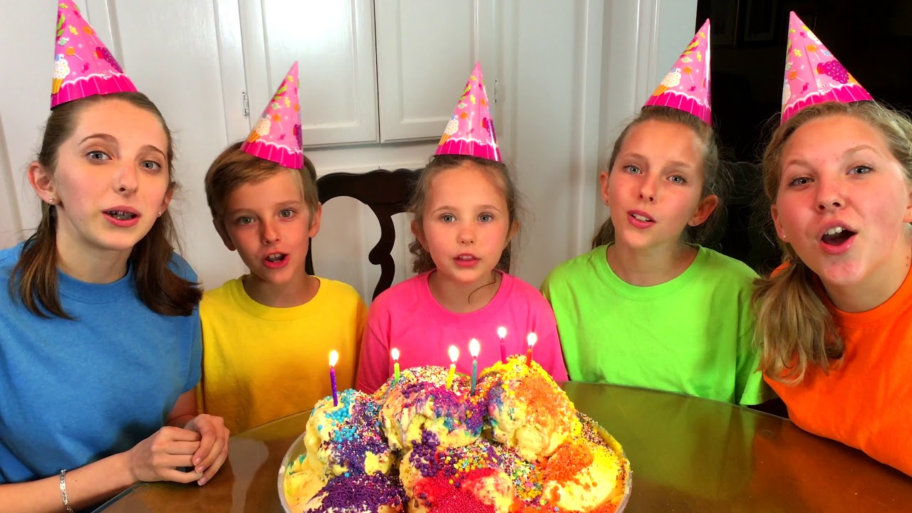 Sing Happy Birthday Song with Sign Post Kids! - YouTube