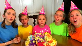 Sing Happy Birthday Song with Sign Post Kids!