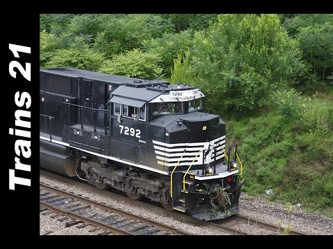 Awesome SD70ACUs, SD80MACs & Loaded Coal Trains = Awesome Sunday Railfanning