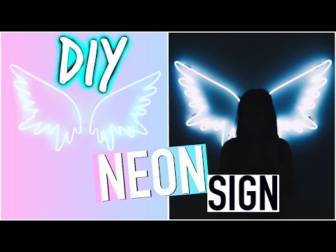 DIY Room Decorations: Tumblr Inspired Sign!