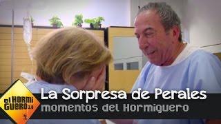 Jose Luis Perales sorprende a una fan enferma en el hospital - El Hormiguero 3.0