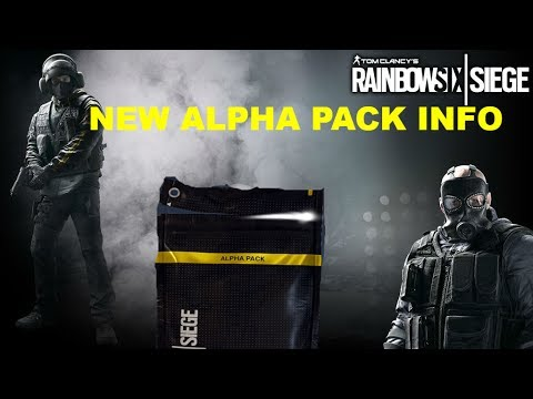 RAINBOW 6 SIEGE | ALPHA PACKS ARE HERE!...KINDA | XBOX ONE | INTERACTIVE STREAMER