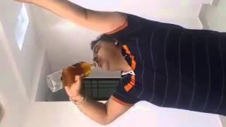 Fastest hard liquor drinker