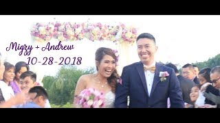 Migzy + Andrew : Laguna Cliffs Marriott Wedding Film