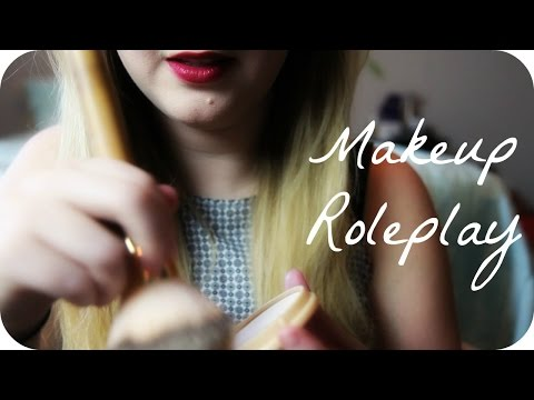 British Makeup Artist ASMR Roleplay | * Brushes and Soft Speaking * |