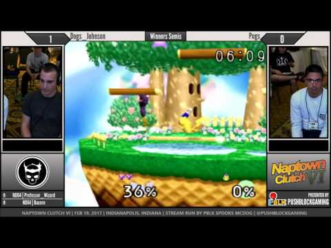 NCVI [64] - Dogs_Johnson (Captain Falcon) vs Pugs (Pikachu) - Winners Semis